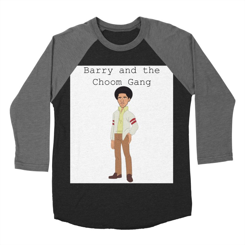 Barry and the Choom Gang for the people Men's Baseball Triblend Longsleeve T-Shirt by thebombdotcomdotcom.com