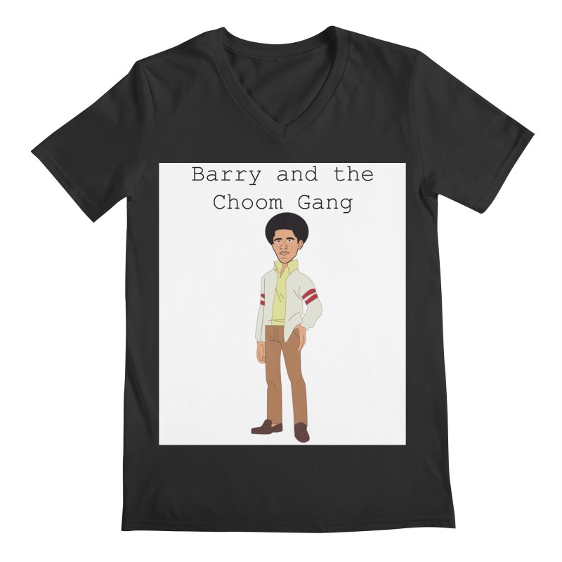 Barry and the Choom Gang for the people Men's Regular V-Neck by thebombdotcomdotcom.com