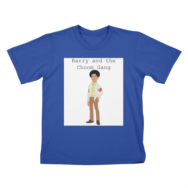 Barry and the Choom Gang for the people Kids T-Shirt by thebombdotcomdotcom.com