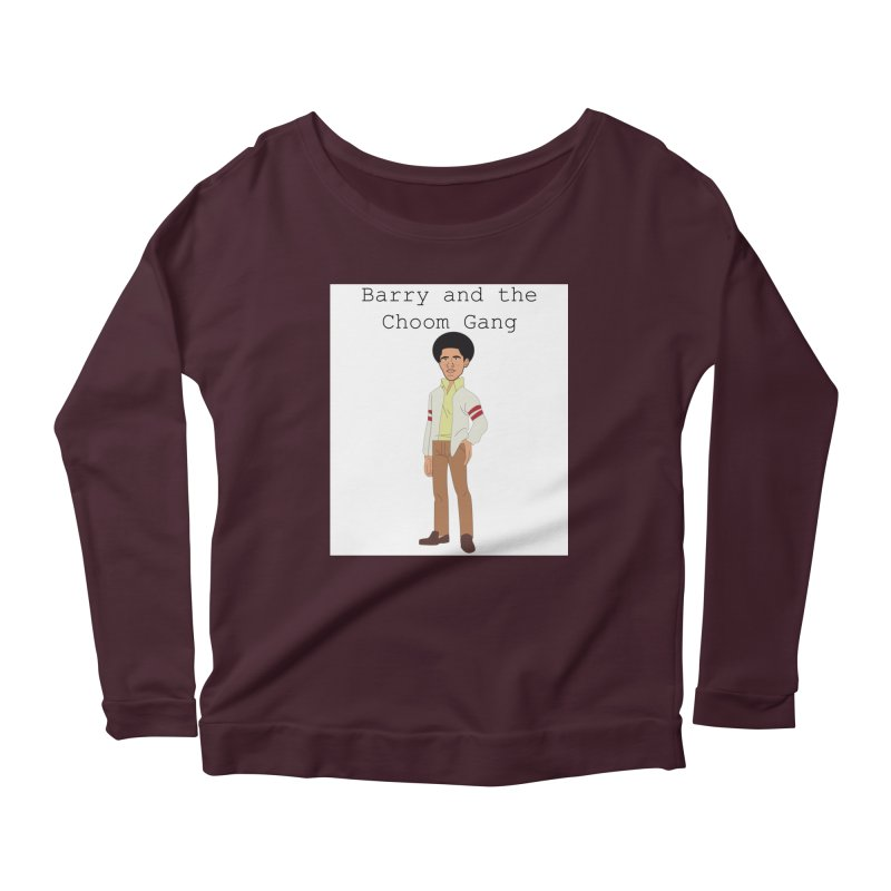 Barry and the Choom Gang for the people Women's Scoop Neck Longsleeve T-Shirt by thebombdotcomdotcom.com