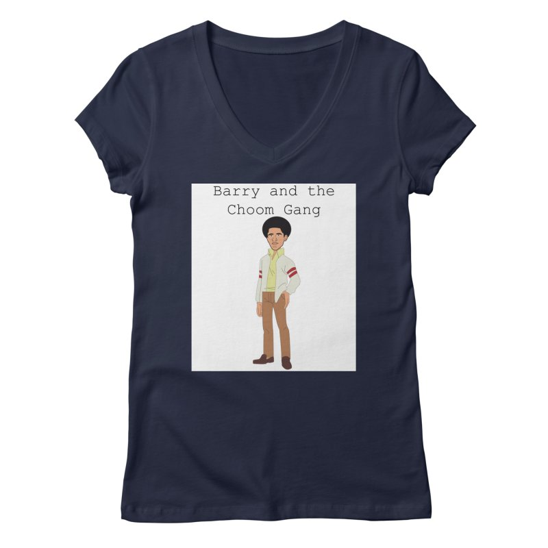 Barry and the Choom Gang for the people Women's Regular V-Neck by thebombdotcomdotcom.com