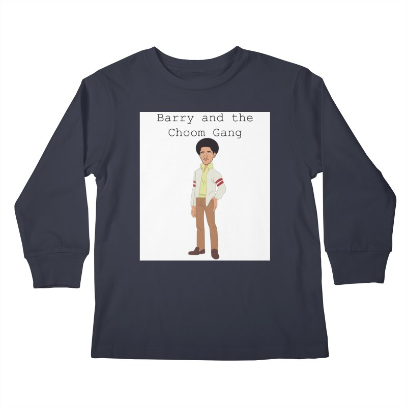 Barry and the Choom Gang for the people Kids Longsleeve T-Shirt by thebombdotcomdotcom.com