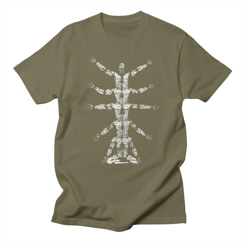 just as the sun rises, man also rises Men's T-shirt by titus toledo