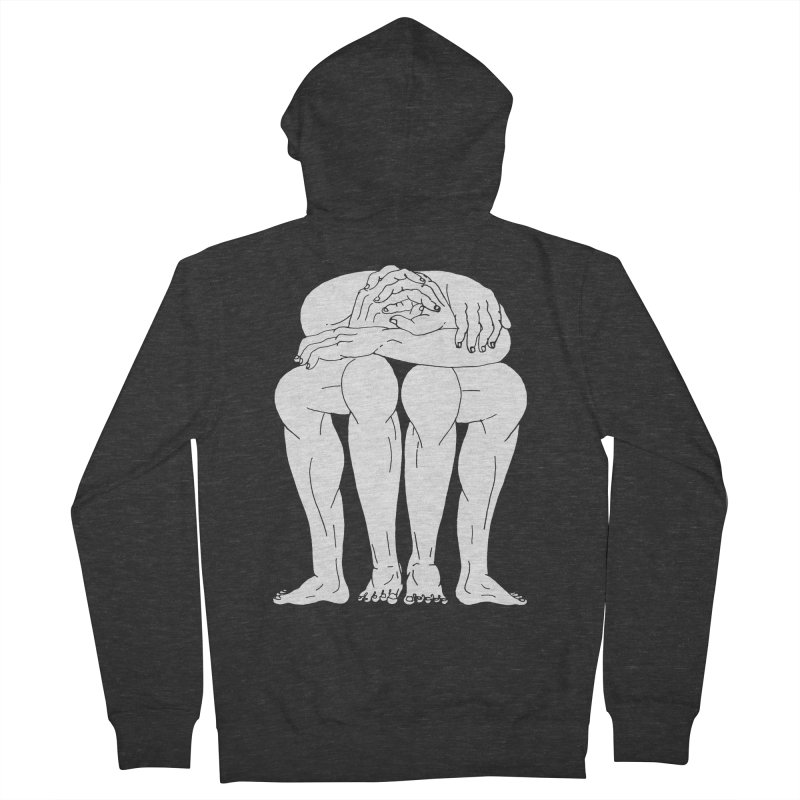 between Women's Zip-Up Hoody by titus toledo