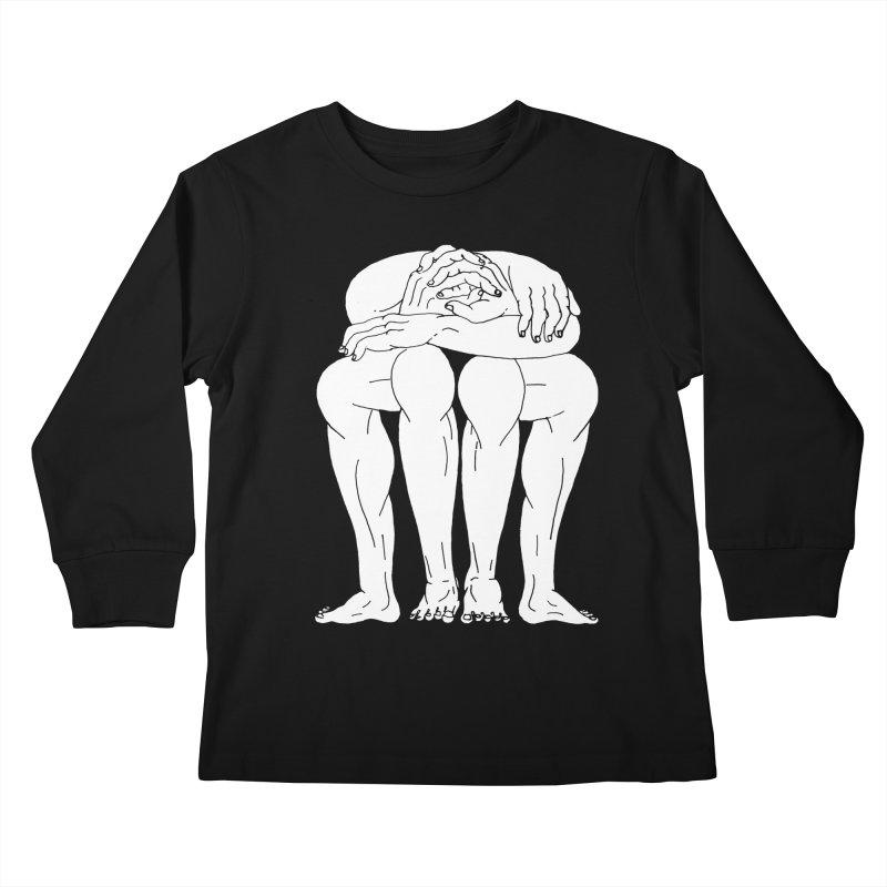 between Kids Longsleeve T-Shirt by titus toledo