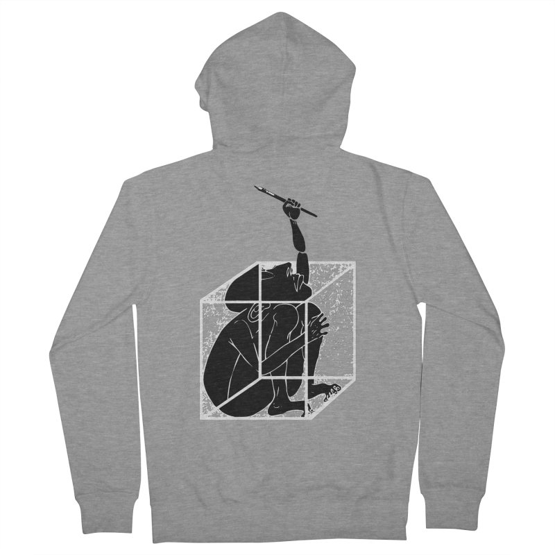 graphistophilus Men's Zip-Up Hoody by titus toledo