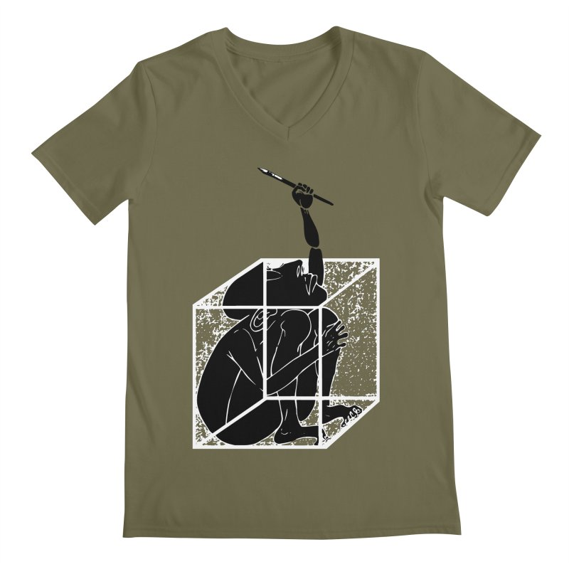 graphistophilus Men's V-Neck by titus toledo