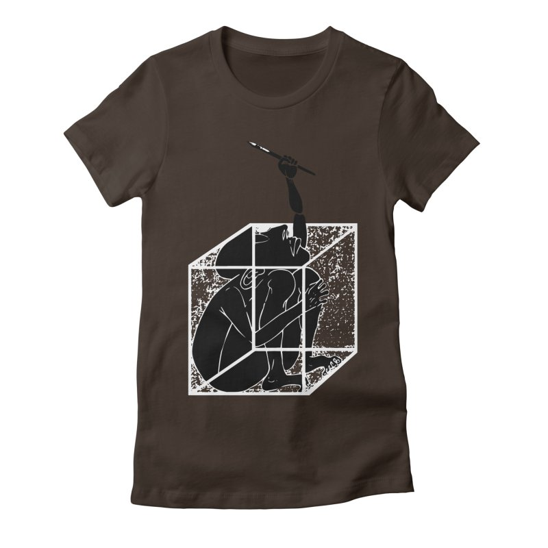 graphistophilus Women's Fitted T-Shirt by titus toledo