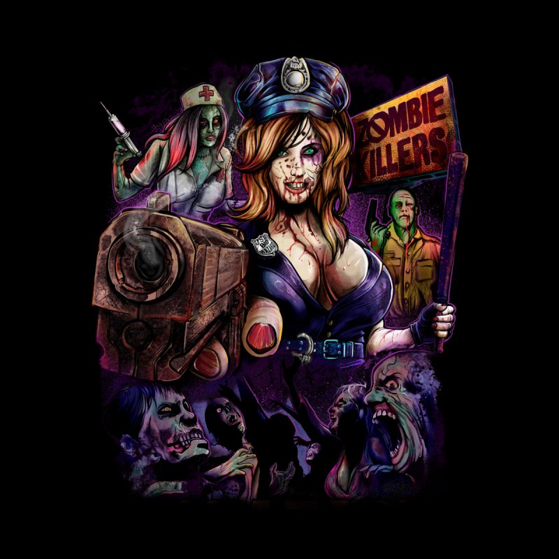 ZOMBIE KILLERS Men's T-Shirt by T.JEF