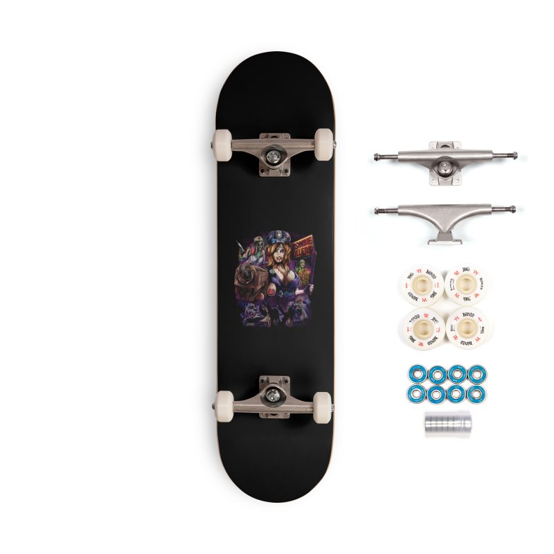 ZOMBIE KILLERS Accessories Complete - Premium Skateboard by T.JEF