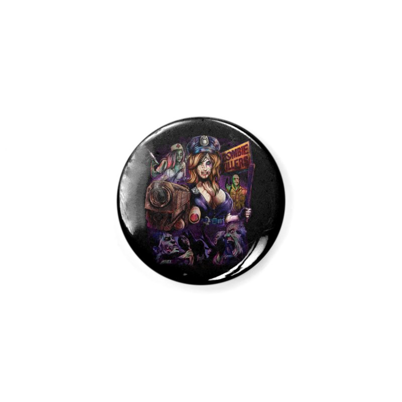 ZOMBIE KILLERS Accessories Button by T.JEF
