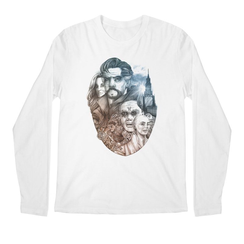 Dr Strange Men's Longsleeve T-Shirt by T.JEF