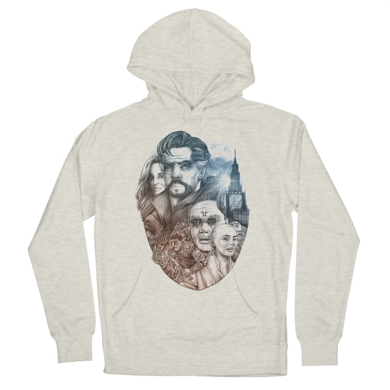Dr Strange Men's French Terry Pullover Hoody by T.JEF
