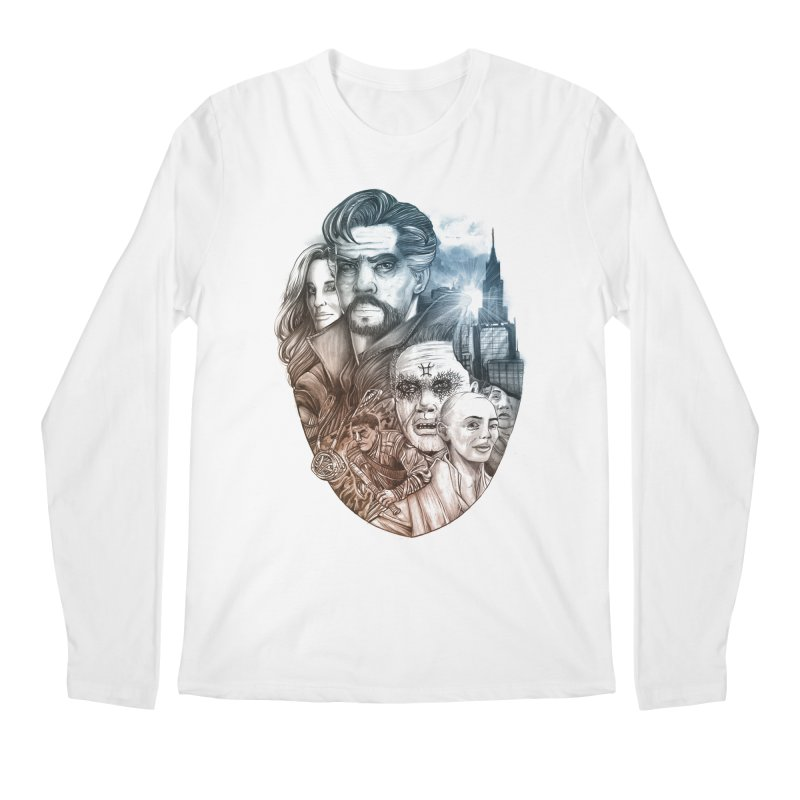 Dr Strange Men's Regular Longsleeve T-Shirt by T.JEF