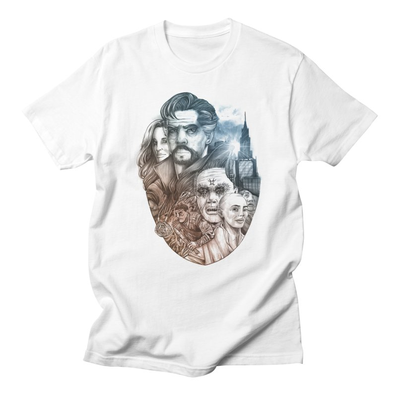 Dr Strange Men's Regular T-Shirt by T.JEF