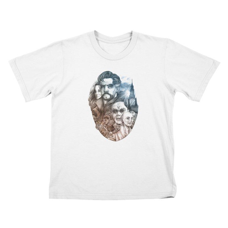 Dr Strange Kids T-Shirt by T.JEF