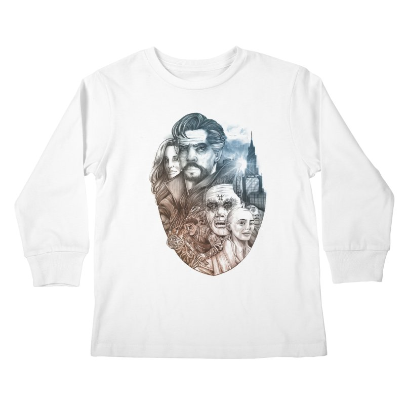 Dr Strange Kids Longsleeve T-Shirt by T.JEF