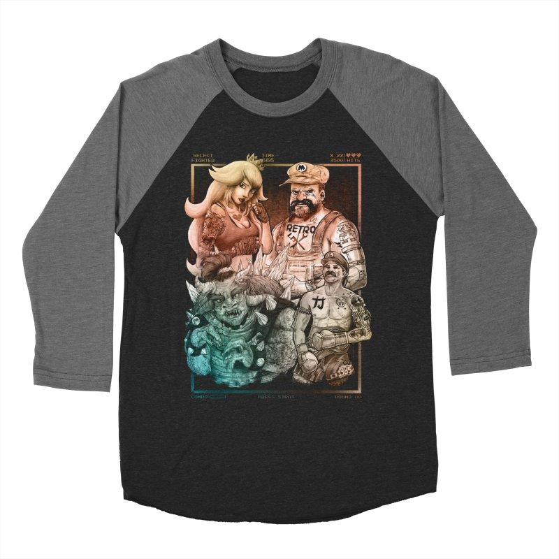 Fighters WORLD Women's Longsleeve T-Shirt by T.JEF