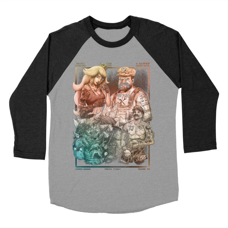 Fighters WORLD Men's Baseball Triblend Longsleeve T-Shirt by T.JEF