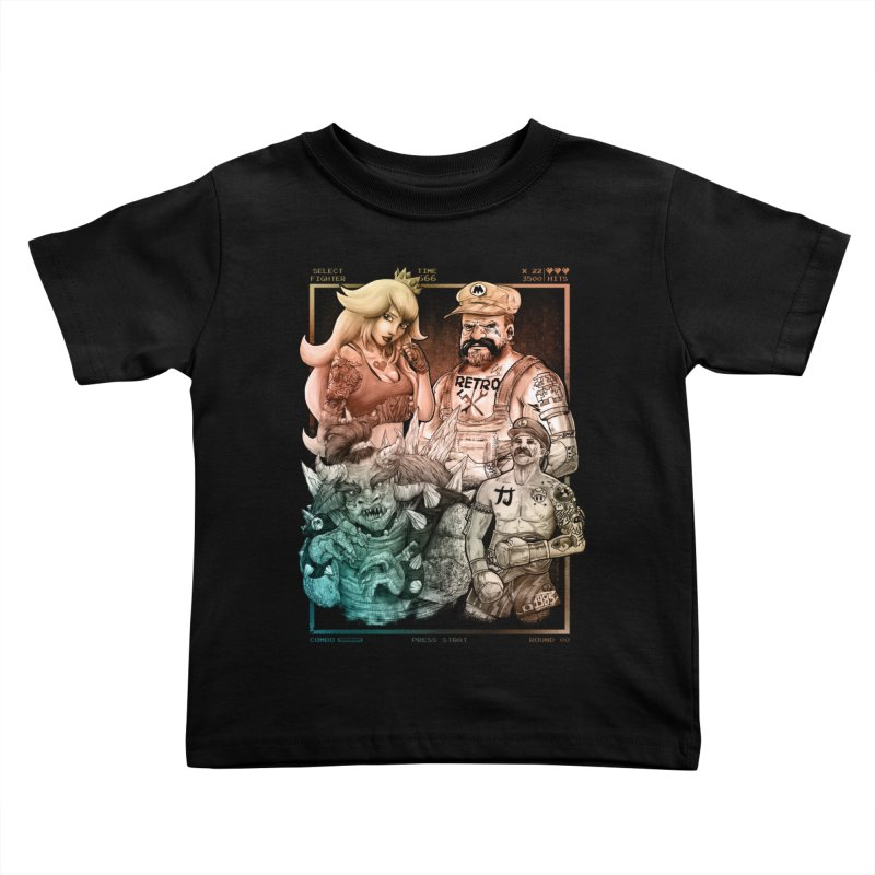 Fighters WORLD Kids Toddler T-Shirt by T.JEF