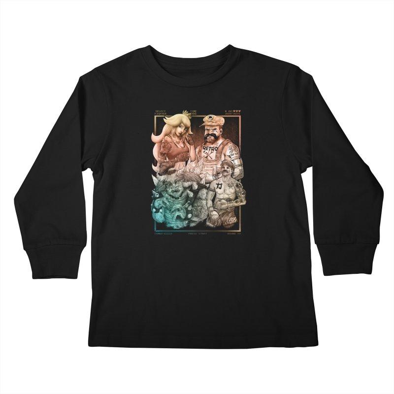 Fighters WORLD Kids Longsleeve T-Shirt by T.JEF