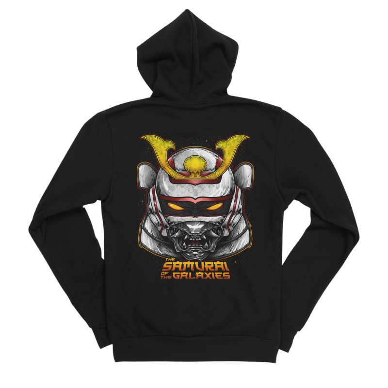 HANNYA - JASPION Men's Sponge Fleece Zip-Up Hoody by T.JEF
