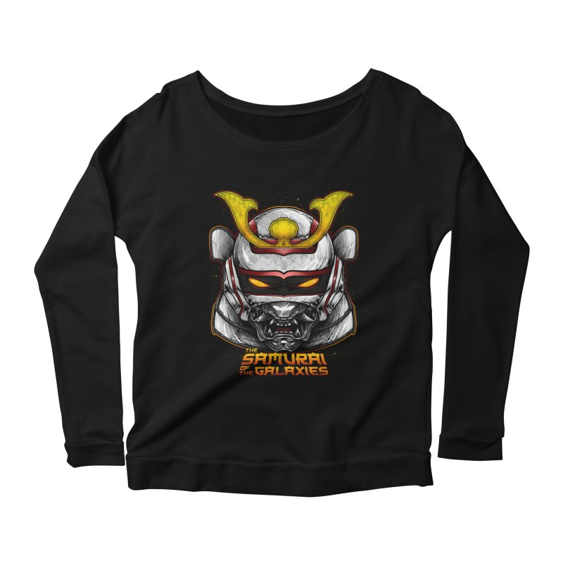 HANNYA - JASPION Women's Scoop Neck Longsleeve T-Shirt by T.JEF