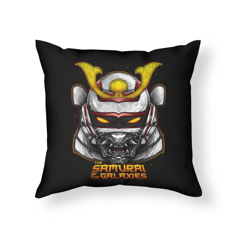 HANNYA - JASPION Home Throw Pillow by T.JEF