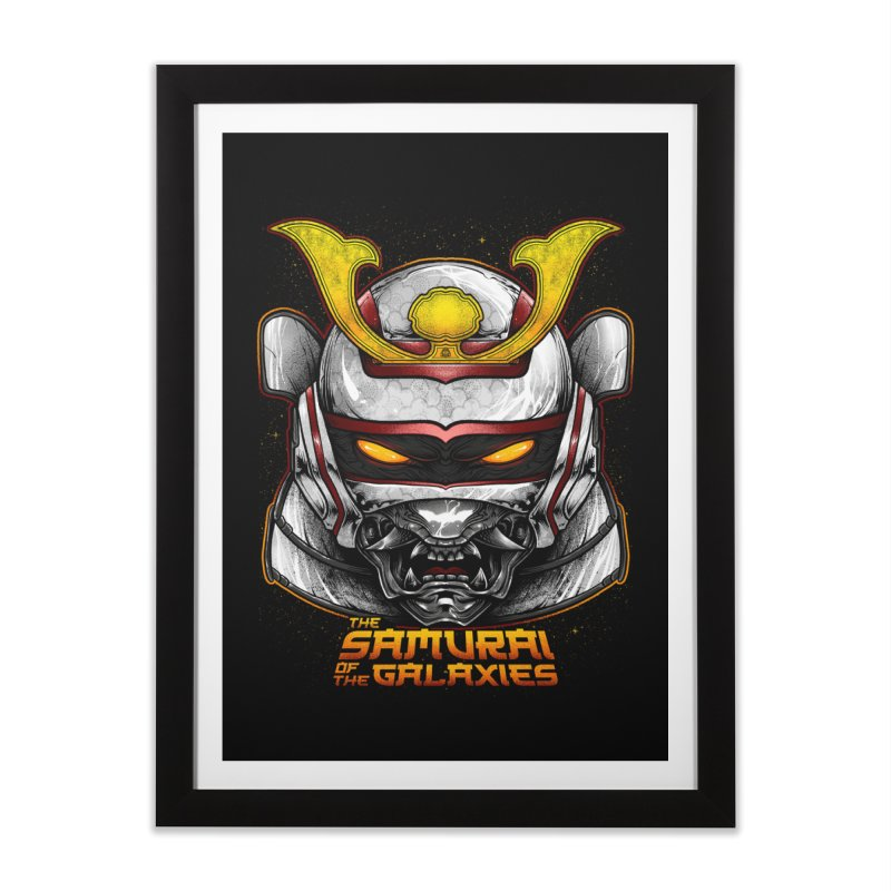 HANNYA - JASPION Home Framed Fine Art Print by T.JEF