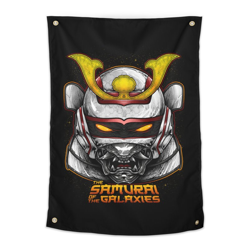 HANNYA - JASPION Home Tapestry by T.JEF