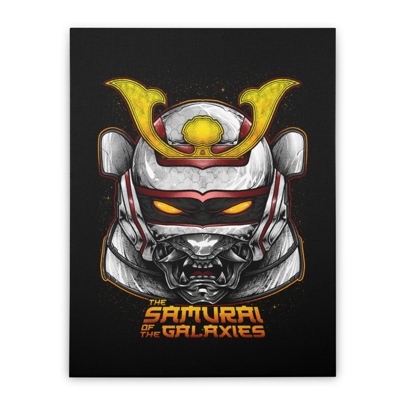 HANNYA - JASPION Home Stretched Canvas by T.JEF