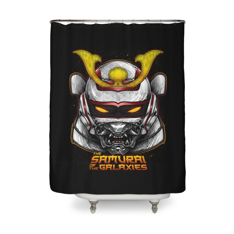 HANNYA - JASPION Home Shower Curtain by T.JEF