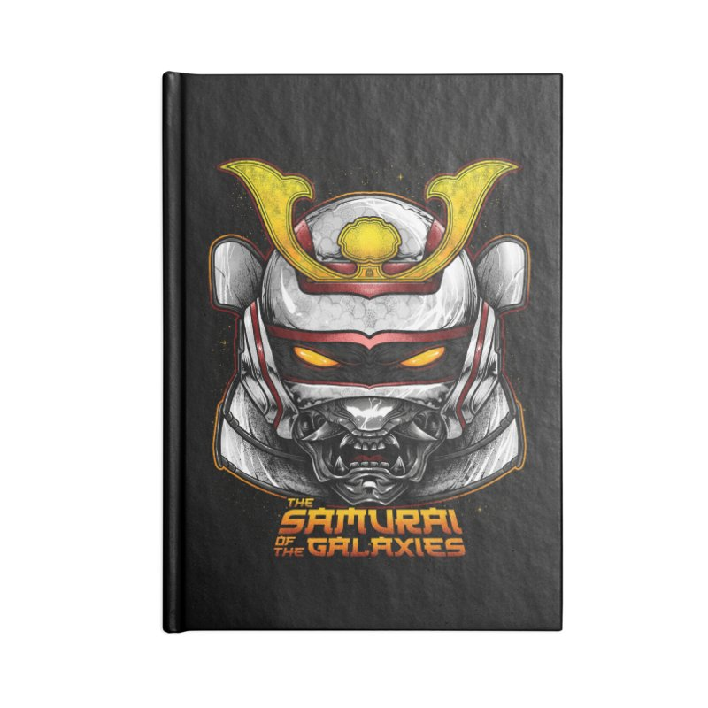HANNYA - JASPION Accessories Lined Journal Notebook by T.JEF