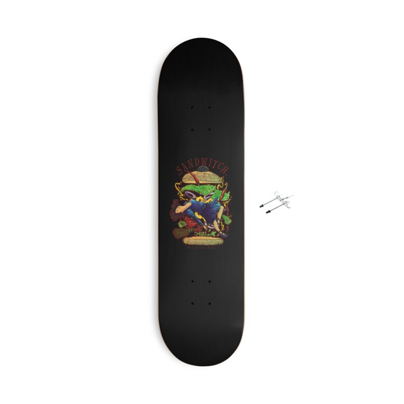 SandWitch Accessories With Hanging Hardware Skateboard by T.JEF