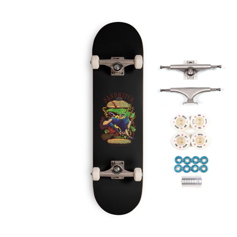 SandWitch Accessories Complete - Premium Skateboard by T.JEF