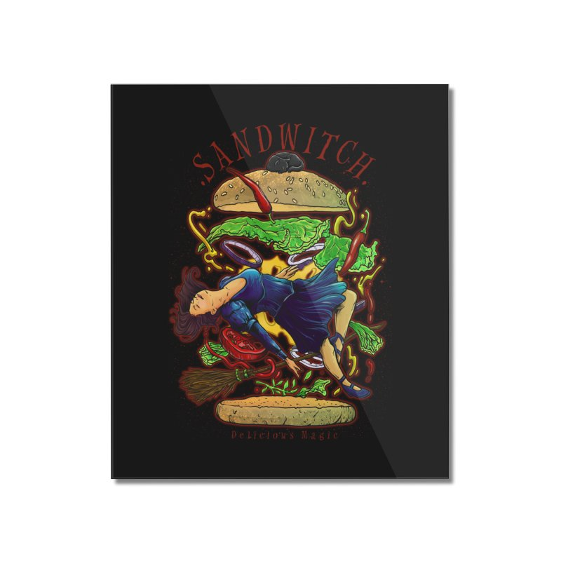 SandWitch Home Mounted Acrylic Print by T.JEF