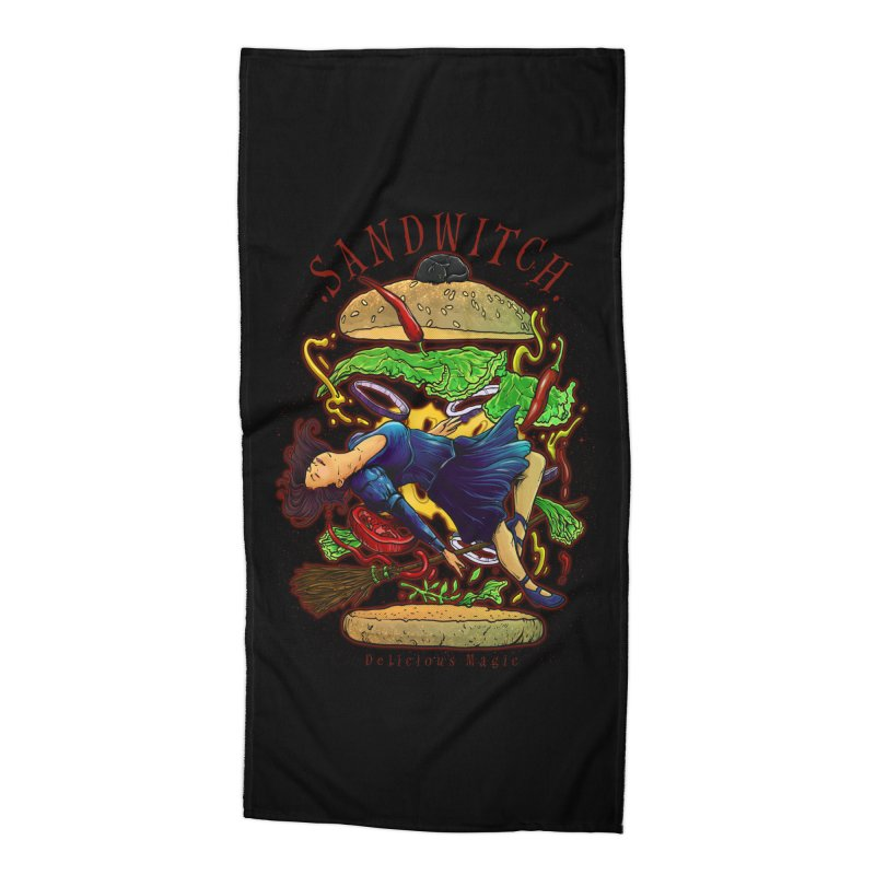 SandWitch Accessories Beach Towel by T.JEF