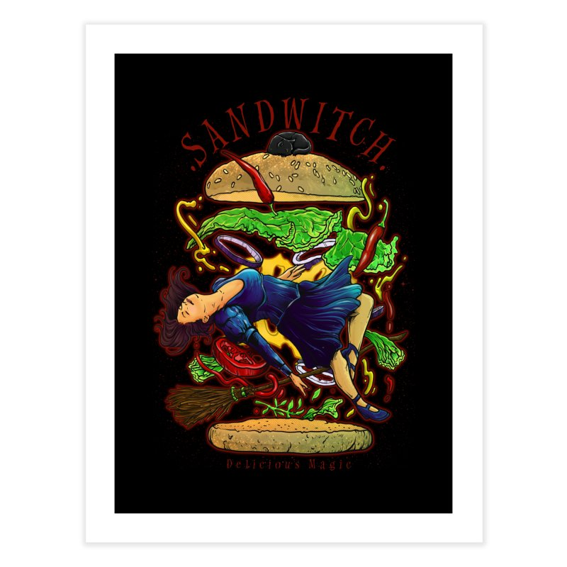 SandWitch Home Fine Art Print by T.JEF