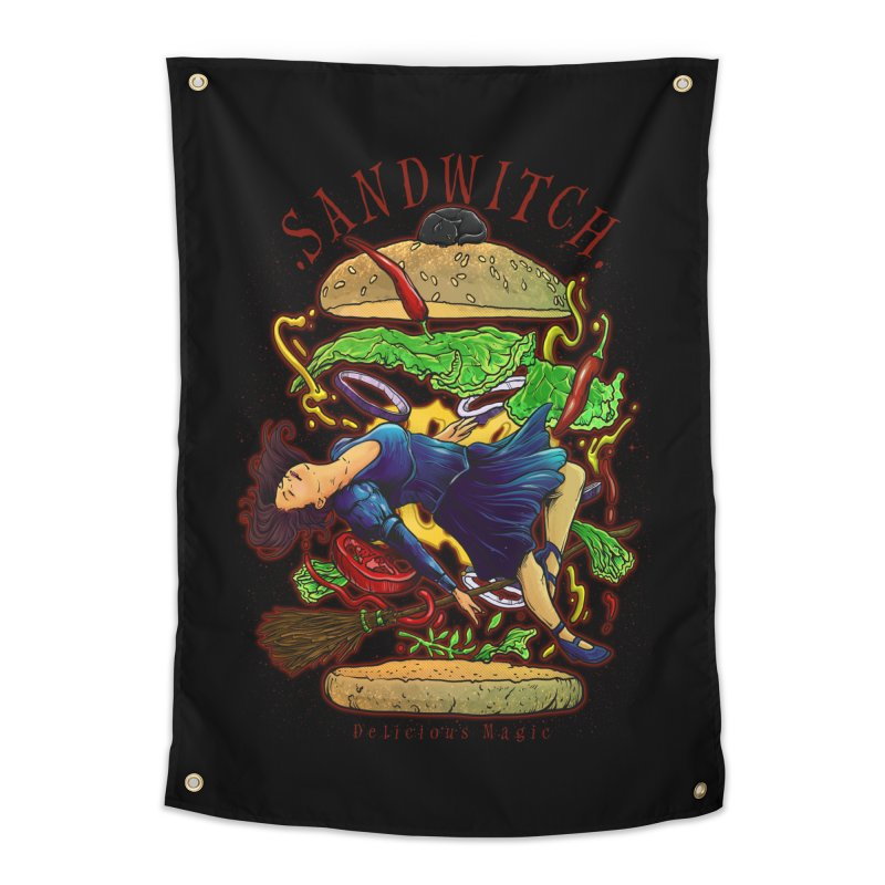 SandWitch Home Tapestry by T.JEF