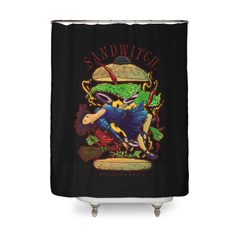 SandWitch Home Shower Curtain by T.JEF