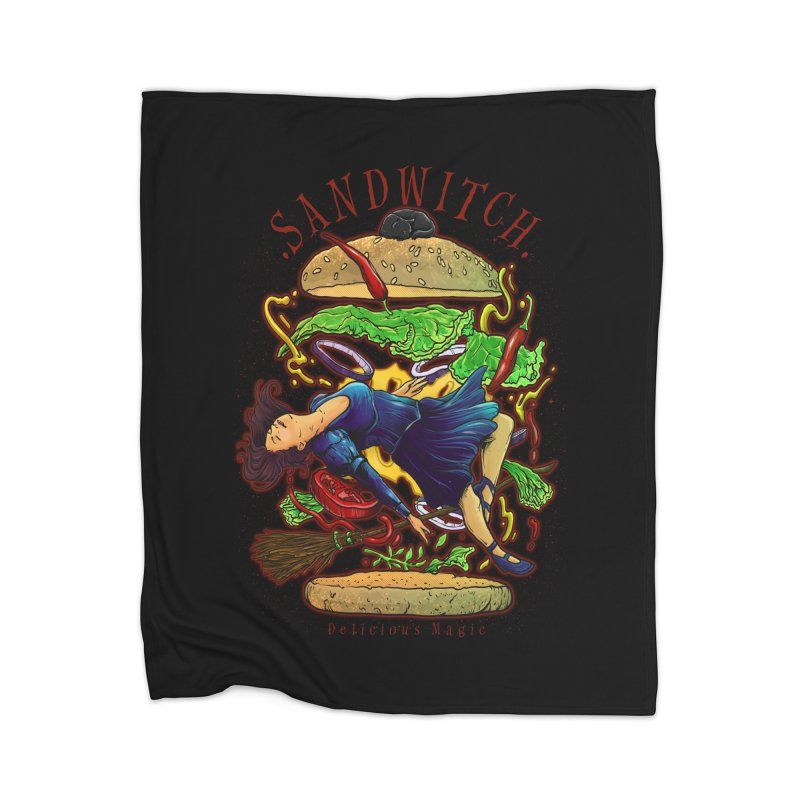 SandWitch Home Blanket by T.JEF