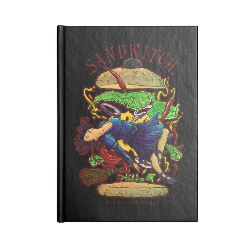 SandWitch Accessories Lined Journal Notebook by T.JEF