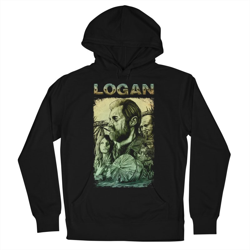 LOGAN - X23 Women's French Terry Pullover Hoody by T.JEF