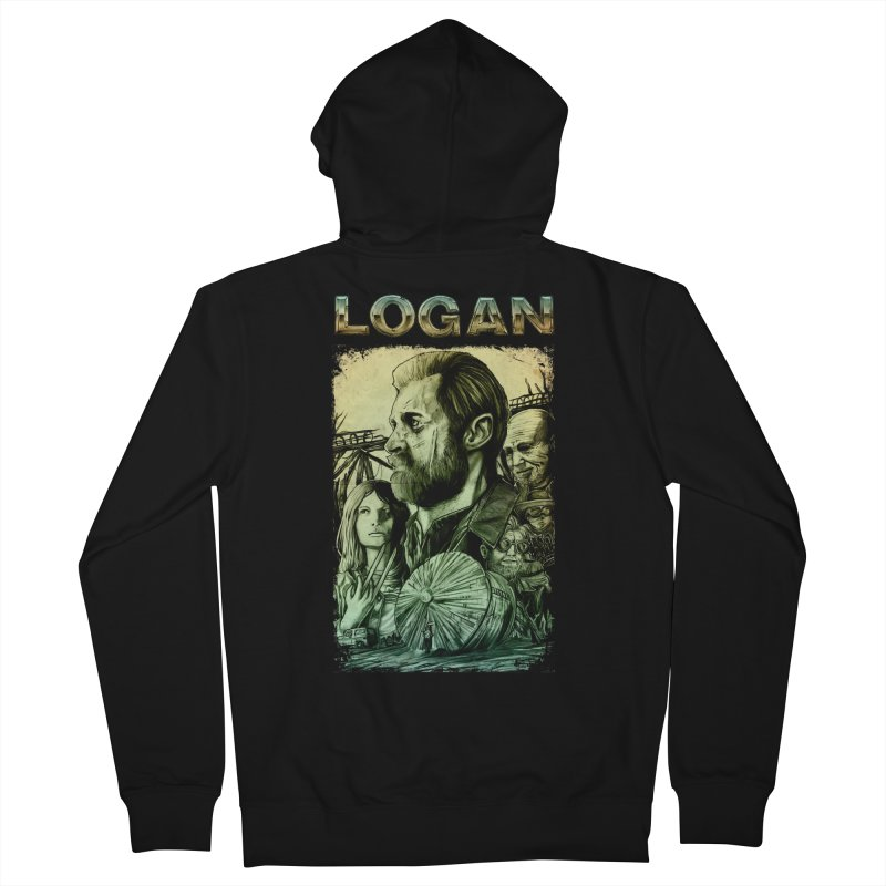 LOGAN - X23 Women's French Terry Zip-Up Hoody by T.JEF