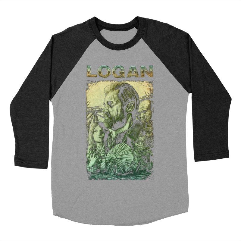 LOGAN - X23 Men's Baseball Triblend Longsleeve T-Shirt by T.JEF