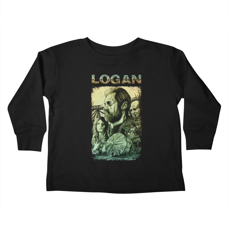 LOGAN - X23 Kids Toddler Longsleeve T-Shirt by T.JEF
