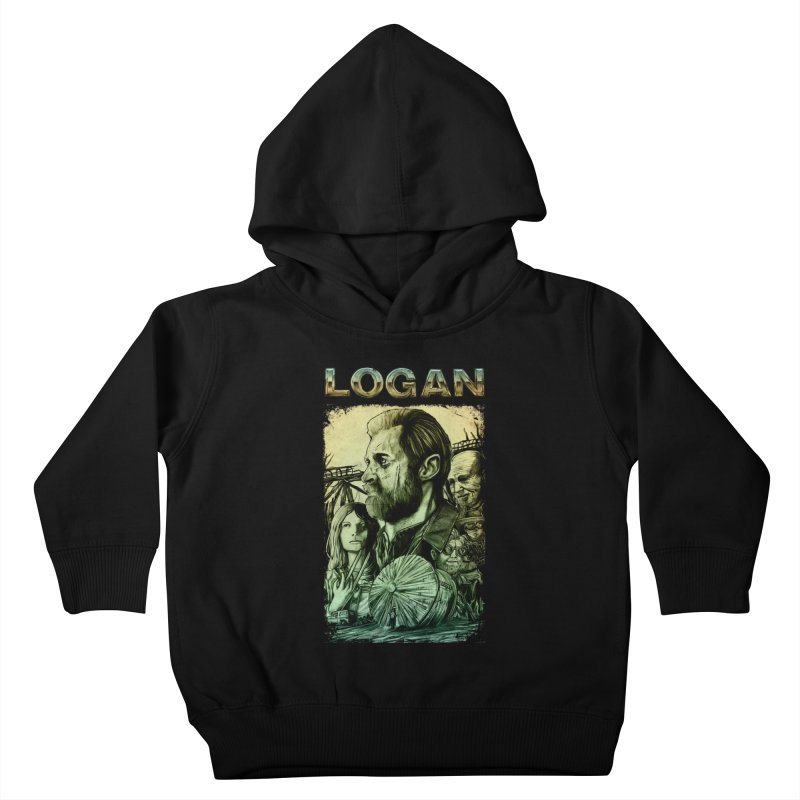 LOGAN - X23 Kids Toddler Pullover Hoody by T.JEF