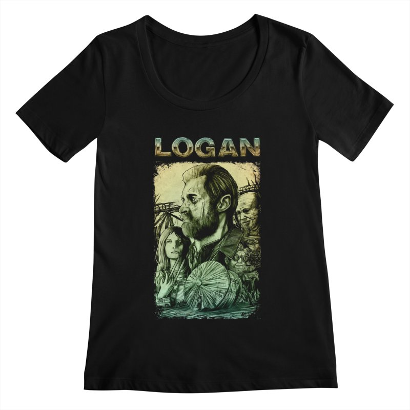 LOGAN - X23 Women's Scoopneck by T.JEF