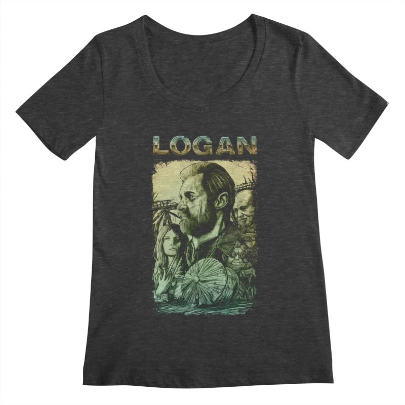LOGAN - X23 Women's Regular Scoop Neck by T.JEF