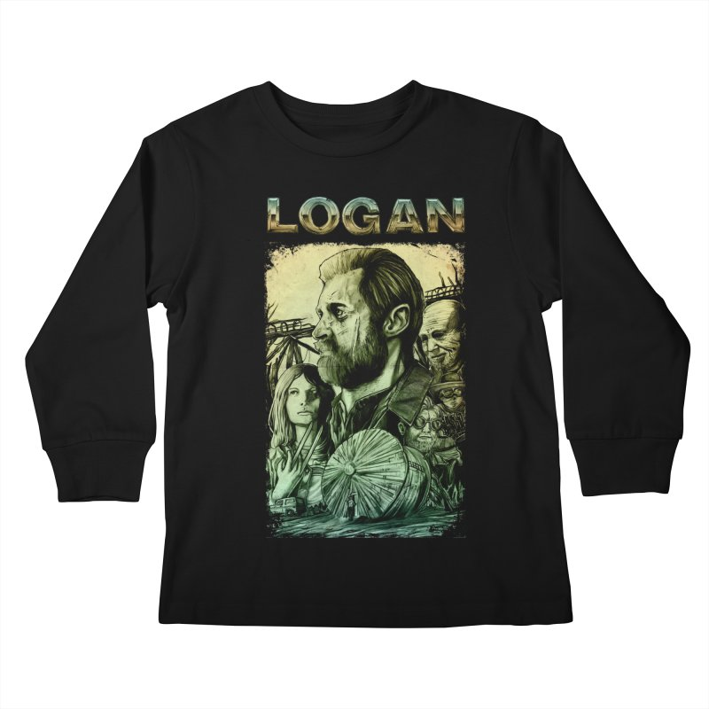 LOGAN - X23 Kids Longsleeve T-Shirt by T.JEF